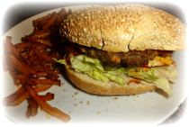 hamburgers recipe,homemade hamburgers,burger fries